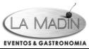 logo de LA MADIN Eventos & Gastronomia